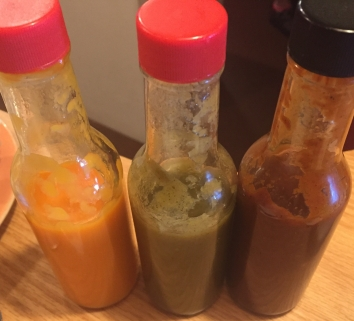 Home Made Hot Sauces